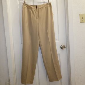 Talbots lined wool blend stretch slacks NWT